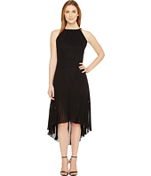 Vince Camuto - Chiffon Halter Pleated Dress