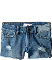 DL1961 Kids - Lucy Cut Off Shorts in Needle (Big Kids)