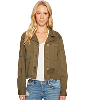 Sanctuary - Lieutenant J Cropped Military Jacket