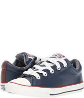 Converse Kids - Chuck Taylor All Star Street Leather and Fleece Slip (Little Kid/Big)