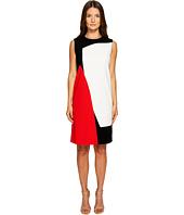 ESCADA - Danissas Color Block Dress