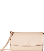 Tory Burch - Robinson Pebbled Mini Flap Wallet Crossbody