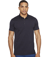 Scotch & Soda - Polo in Mercerized Jersey Quality with Mini All Over Print