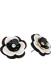 Kate Spade New York - Rosy Posies Statement Studs Earrings