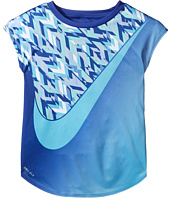 Nike Kids - Swoosh Blocking Dri-Fit Short Sleeve Tee (Little Kids)