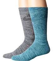 Nike - Sportswear Blue Label Advance Graphic 2-Pair Pack Crew Socks