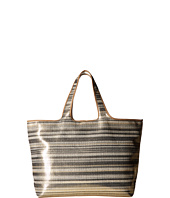 Echo Design - Metallic Stripe Hamptons Tote