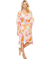 Echo Design - Cambon Floral Double V Cover-Up