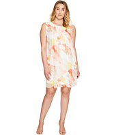 Calvin Klein Plus - Plus Size Pleat Front A-Line Dress