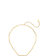 Michael Kors - Tone and Crystal Station Necklace