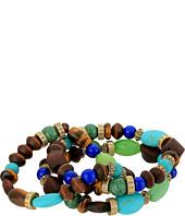 LAUREN Ralph Lauren - 3 Row Beaded Stretch Bracelet