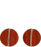 Robert Lee Morris - Two-Tone Clip Earrings