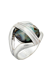 Robert Lee Morris - Two-Tone Wire Stone Ring