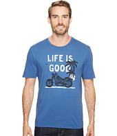 Life is Good - Motorcycle Beach Smooth Tee