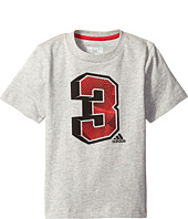adidas Kids - Strength in Numbers Tee (Big Kids)