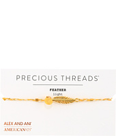 Alex and Ani - Precious Threads - Feather Daybreak Braid Bracelet