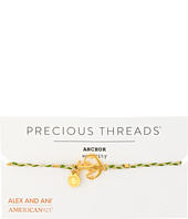 Alex and Ani - Precious Threads - Anchor Succulent Braid Bracelet