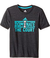 adidas Kids - Dominate Tee (Toddler/Little Kids)