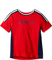 adidas Kids - Undefeated Top (Toddler/Little Kids)