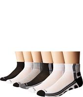 Steve Madden - 6-Pack Athletic Quarter Socks
