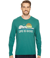 Life is Good - Camp Guitar Life Is Good® Long Sleeve Smooth Tee