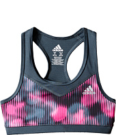adidas Kids - Printed Gym Bra (Big Kids)