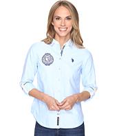 U.S. POLO ASSN. - Solid Oxford Woven Shirt