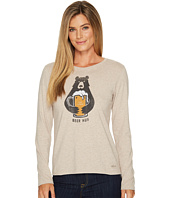 Life is Good - Beer Hug Long Sleeve Crusher Tee