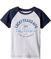 Lucky Brand Kids - Dry Goods Raglan Tee w/ Short Sleeves (Toddler)