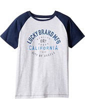 Lucky Brand Kids - Dry Goods Raglan Tee w/ Short Sleeves (Big Kids)