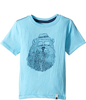 Lucky Brand Kids - Gentleman Bear Tee w/ Short Sleeves (Toddler)