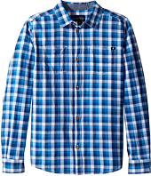 Lucky Brand Kids - Long Sleeve High Tide Woven in Poplin (Big Kids)