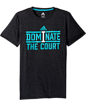 adidas Kids - Dominate Tee (Big Kids)