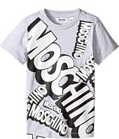 Moschino Kids - Short Sleeve Logo Graphic T-Shirt (Little Kids/Big Kids)