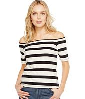 Splendid - Seaboard Stripe Off Shoulder Top