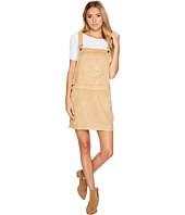 Roxy - Chase The Sun Faux Suede Dungaree Dress