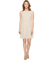 Vince Camuto - Sleeveless Float Dress with Beaded Collar