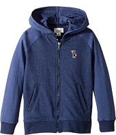 Lucky Brand Kids - French Terry Varsity Jacket w/ Zip-Up (Little Kids/Big Kids)