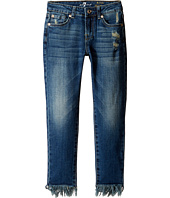7 For All Mankind Kids - The Ankle Skinny Jeans in Crete Island (Big Kids)