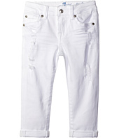 7 For All Mankind Kids - Josefina Boyfriend Jeans in Destructed White (Little Kids)