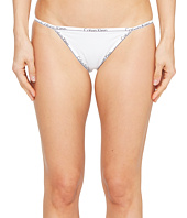 Calvin Klein Underwear - CK ID Cotton Small Waist Band String Bikini
