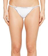 Calvin Klein Underwear - CK ID Cotton Small Waist Band String Bikini