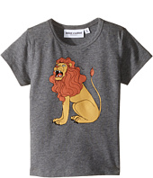 mini rodini - Lion Short Sleeve Tee (Infant/Toddler/Little Kids/Big Kids)