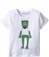 mini rodini - Frog Short Sleeve Tee (Infant/Toddler/Little Kids/Big Kids)