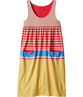 Sonia Rykiel Kids - Sleeveless Striped Dress w/ Pom Pom Detail (Big Kids)