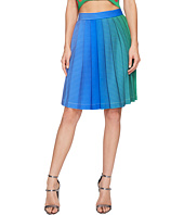 Kitty Joseph - Iridescent Pleated Skirt