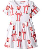mini rodini - Frogs Short Sleeve Dress (Infant/Toddler/Little Kids/Big Kids)