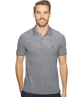 Lacoste - Father's Day Linen/Cotton Birds Eye Jaspe Effect Pique Polo