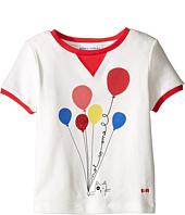 Sonia Rykiel Kids - Short Sleeve Balloon Graphic T-Shirt w/ Contrast Trim (Toddler/Little Kids)