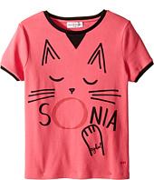 Sonia Rykiel Kids - Short Sleeve Cat Graphic T-Shirt (Big Kids)